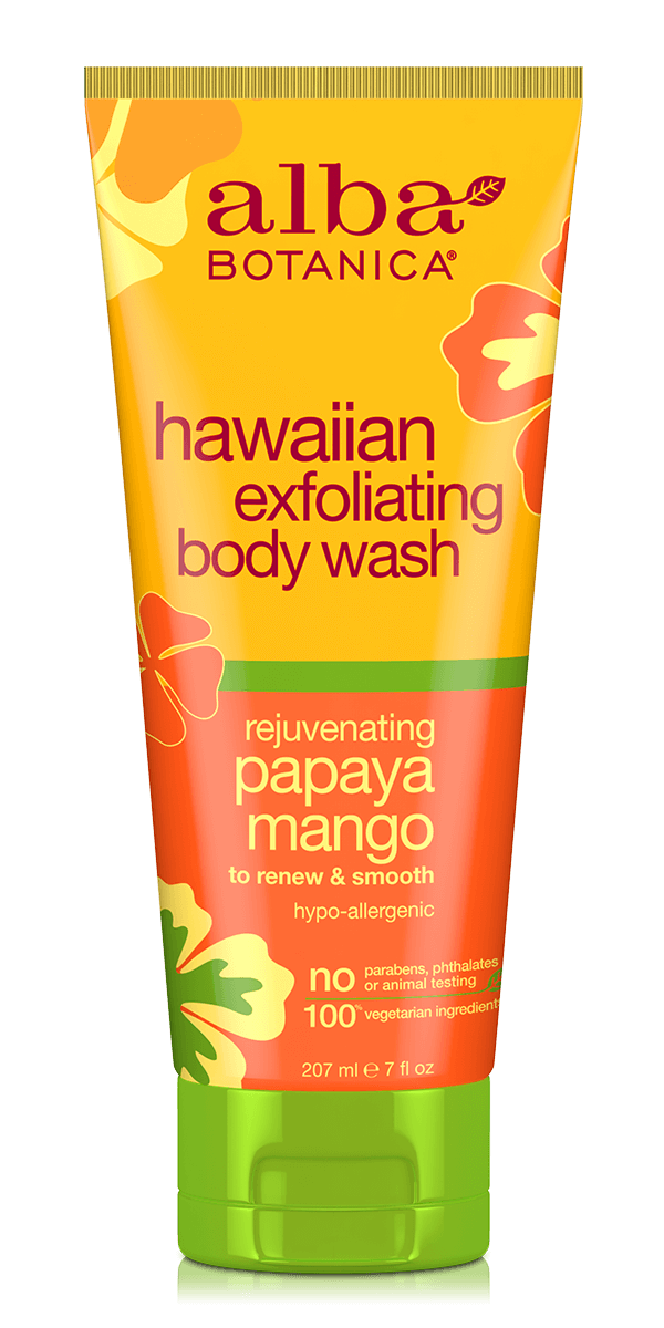 hawaiian exfoliating body wash