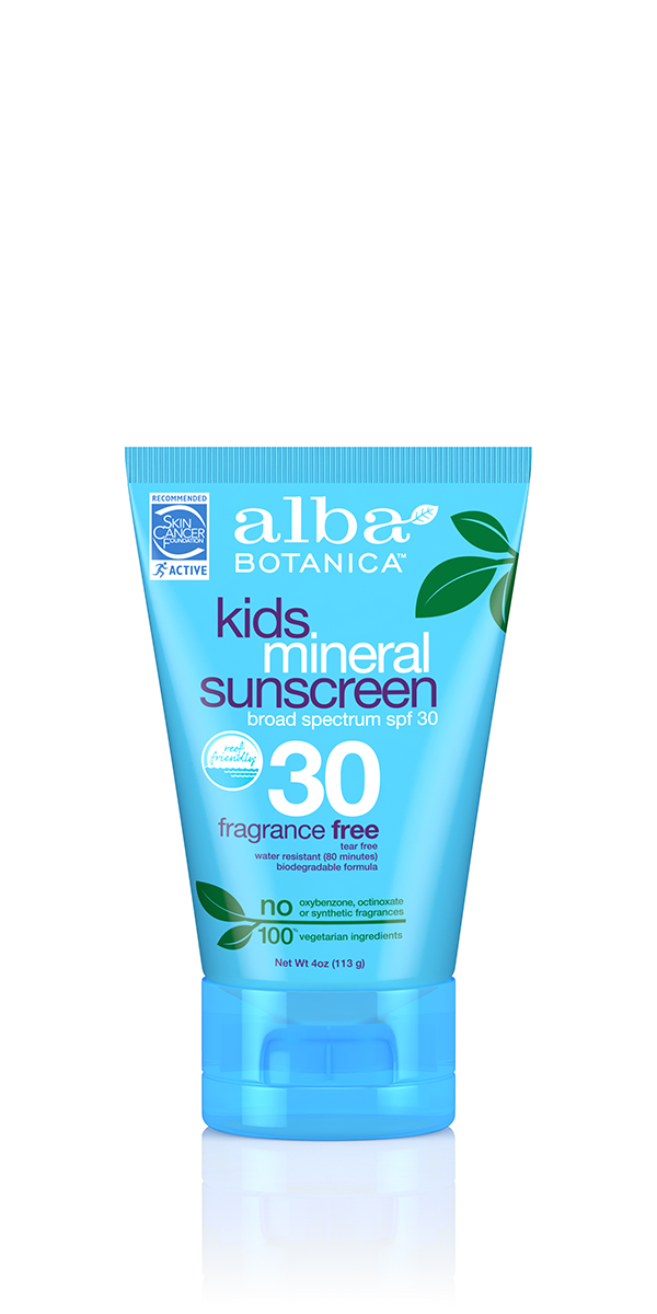 kids mineral sunscreen