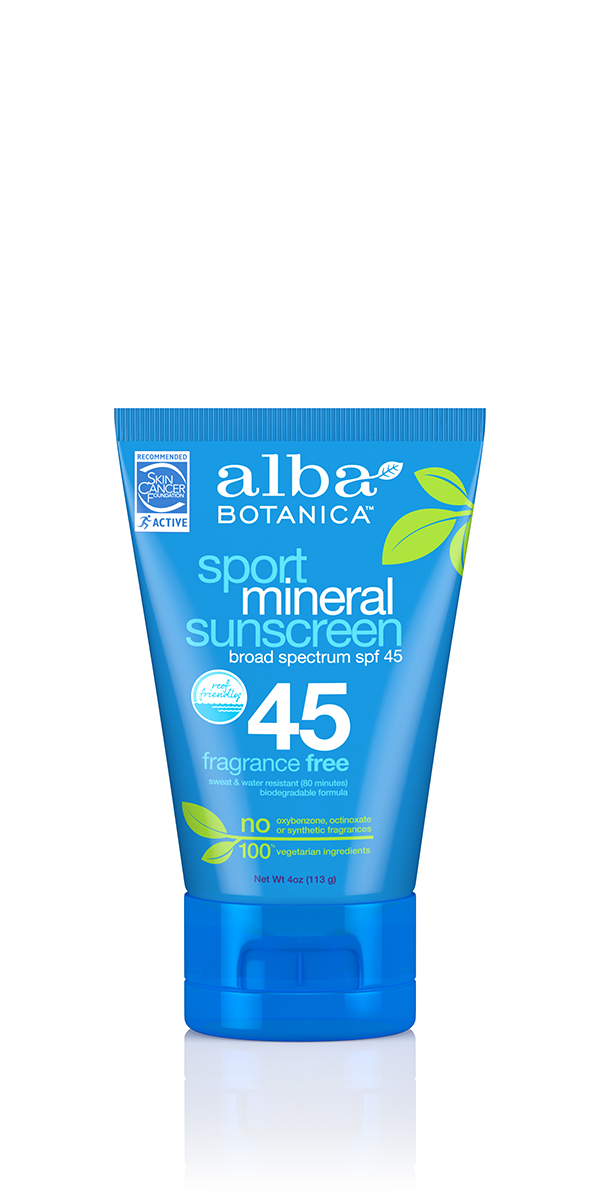 sensitive mineral sunscreen