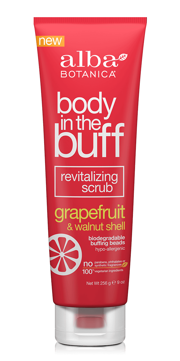 body in the buff revitalizing scrub