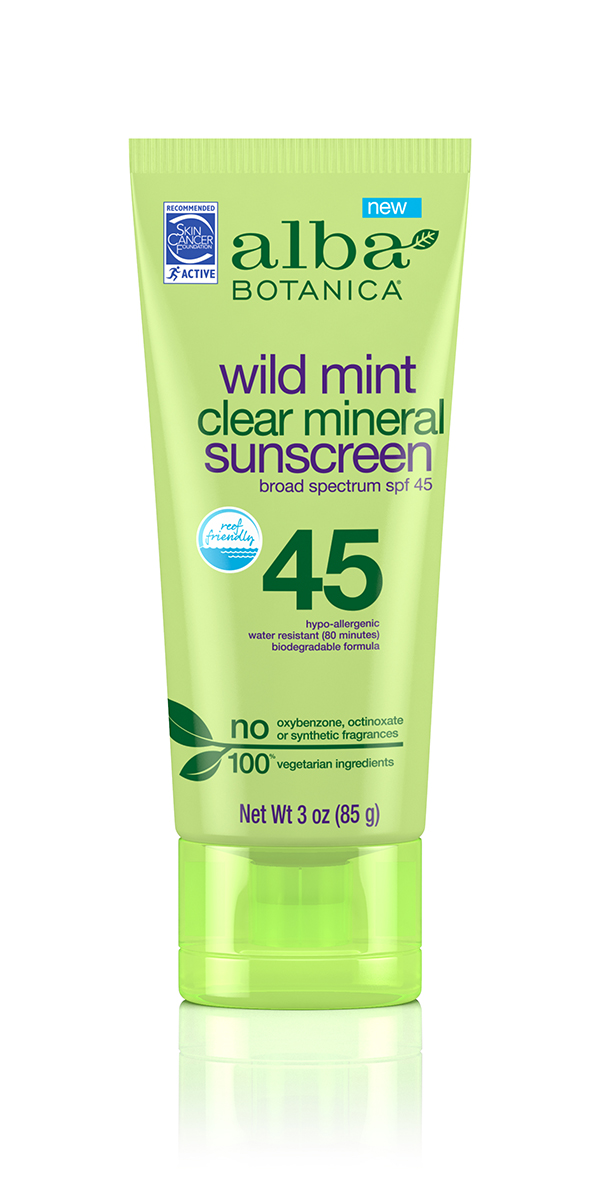 clear mineral sunscreen