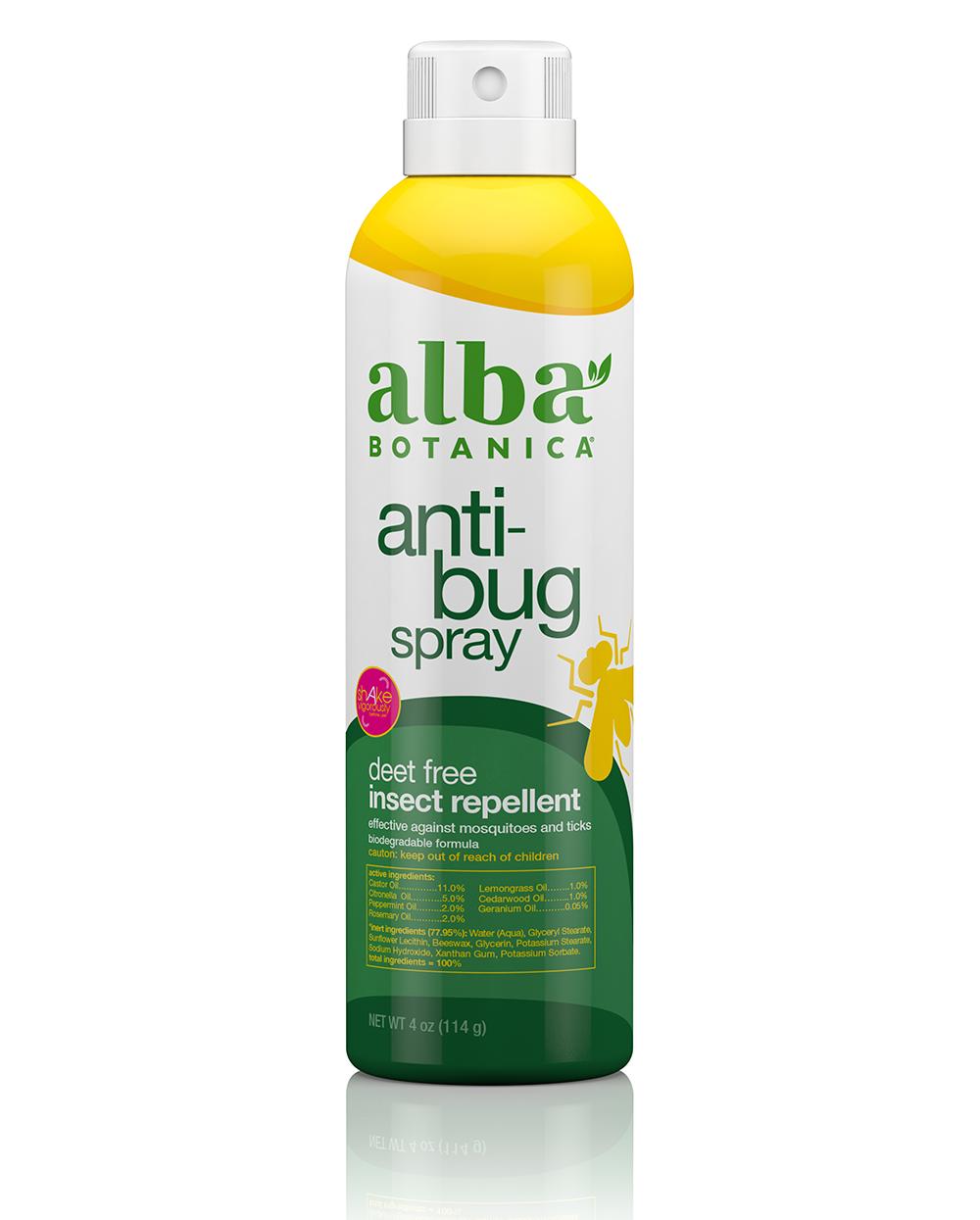 anti-bug spray