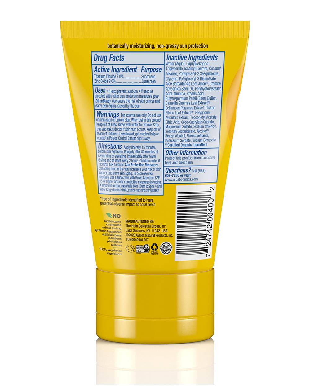 sport mineral sunscreen